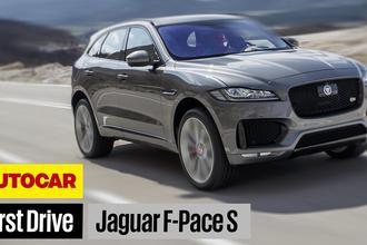 Jaguar F-Pace video