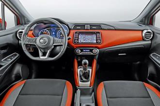 Nissan Micra interior tour