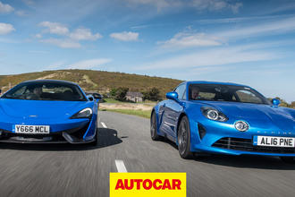 Alpine A110 vs McLaren 570s
