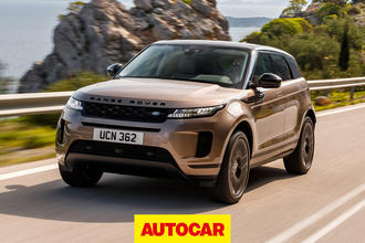 Autocar Land Rover Evoque video review thumbnail