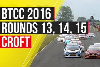 BTCC Croft Autocar video logo