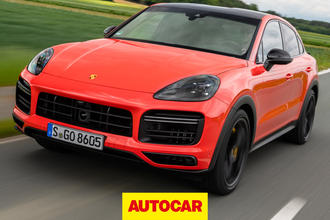 Porsche Cayenne Coupe video thumbnail