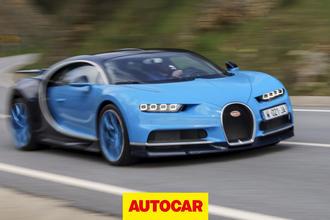 Bugatti Chiron video