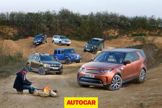 Video: What's the best 4x4? New Land Rover Discovery faces five rivals