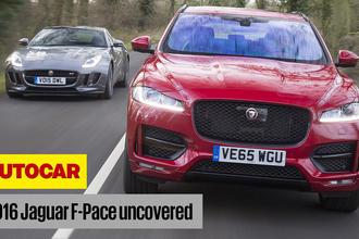 Jaguar F-Pace Autocar video