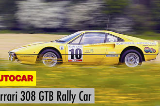 Ferrari 308 GTB Group B rally car