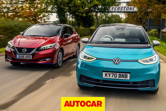 Volkswagen ID 3 vs Nissan Leaf