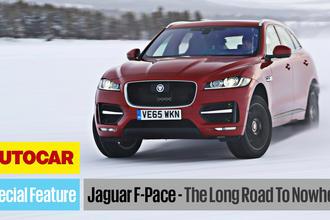 Jaguar F-Pace video Autocar