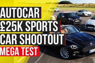 £25k sports car shootout