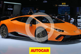 Video: Lamborghini Huracan Performante revealed