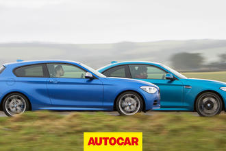 Video: 390bhp BMW M135i versus M2