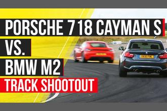 BMW M2 vs Porsche Cayman 718 S