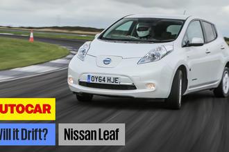 Nissan Leaf drift video
