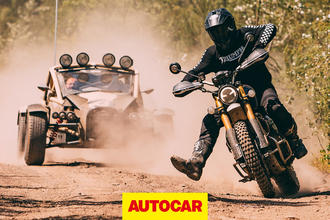 Ariel Nomad vs Triumph Scrambler video thumbnail