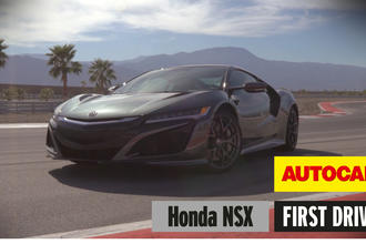 Honda NSX Autocar review video