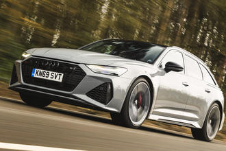 Audi RS6 Avant 2020 video review thumbnail