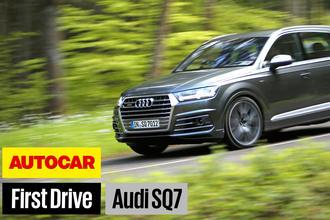 Audi SQ7 video