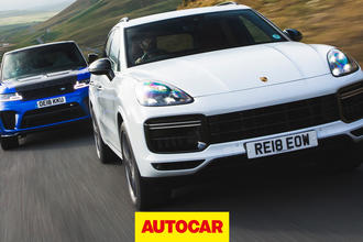 Range Rover Sport SVR vs Porsche Cayenne Turbo