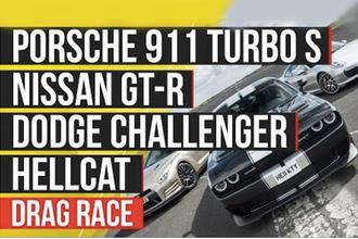 Drag race Autocar