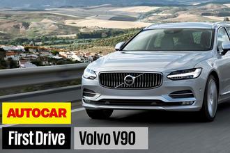 Volvo V90 video Autocar
