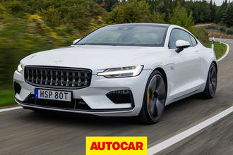 2019 Polestar 1 review - hero front