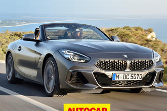 BMW Z4 video review thumbnail