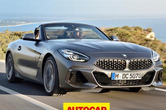 BMW Z4 video review thumbnail