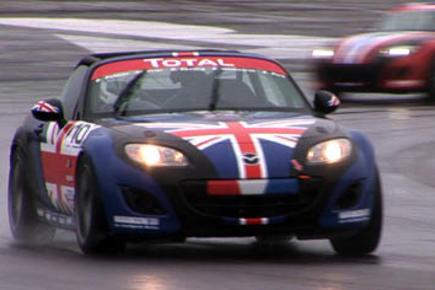 Mazda MX-5 enduro race