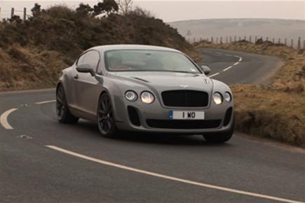 Bentley Continental Supersports driven