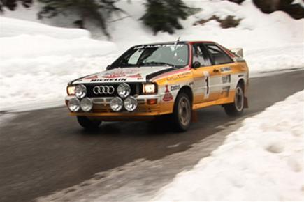 Audi Quattro on the Col de Turini