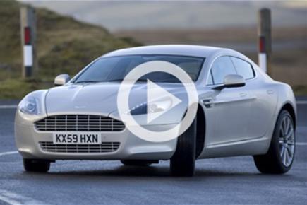 Aston Martin Rapide driven