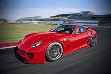 Ferrari 599XX driven