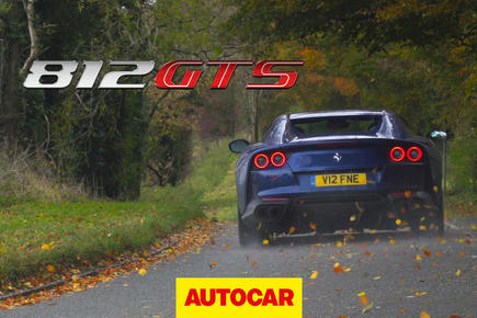 Ferrari 812 GTS - video thumbnail