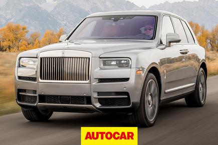Rolls Royce Cullinan video review thumbnail