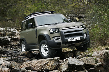Land Rover Defender reveal video thumbnail