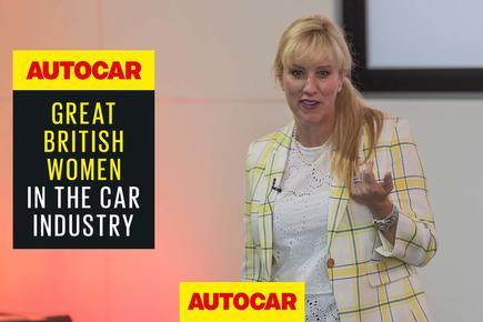 Aston Martin's president of the Americas Laura Schwab