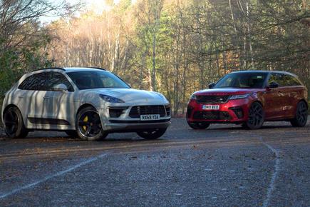 Porsche Macan Turbo vs Range Rover Velar SVA Dynamic video thumbnail