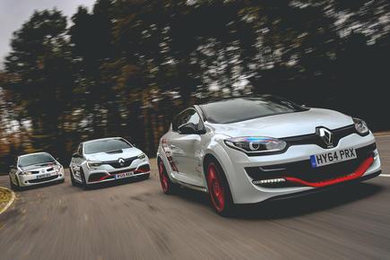 Renault hot hatchbacks - Autocar Heroes - web thumbnail