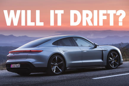 Will it Drift? Porsche Taycan Turbo