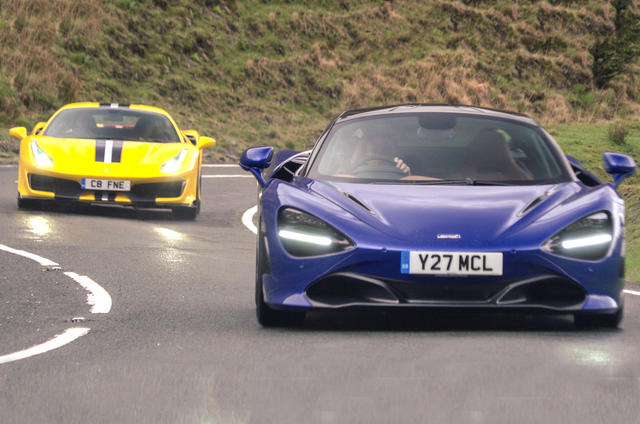 Ferrari 488 Pista vs McLaren 720S video review