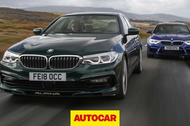 BMW M5 vs. Alpina B5