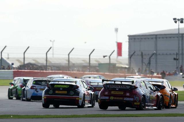 BTCC Silverstone
