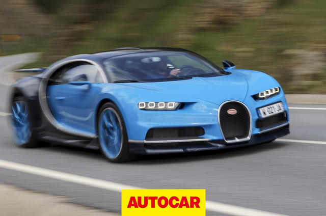 Bugatti Chiron video