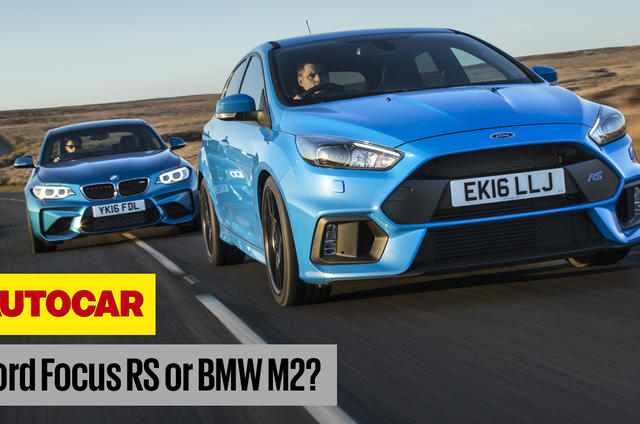Ford Focus RS BMW M2