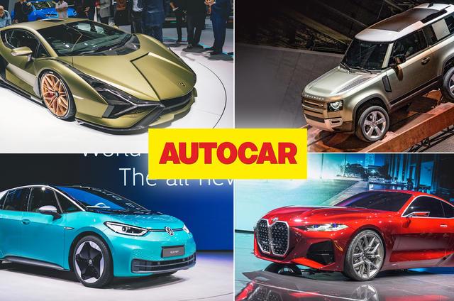 Autocar round-up of Frankfurt motor show 2019
