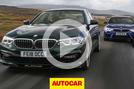 BMW M5 vs. Alpina B5
