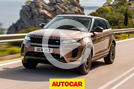 Autocar Land Rover Evoque video review thumbnail