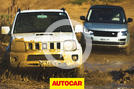 Video: Range Rover SVAutobiography vs Suzuki Jimny - off-road battle