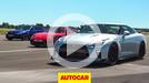 Drag Race: BMW M5 vs Litchfield Nissan GT-R vs 911 Turbo S