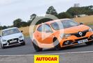 Renault Megane RS 280 Cup vs Hyundai i30N track battle